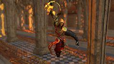 Virgo magi Action scene practicing with Marmoset