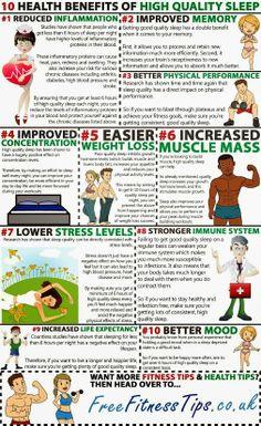 10 Health Benefits Of High Quality Sleep