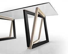 Table by Dror Benshetrit utilizing his revolutionary system of space truss geometry, QuaDror. #Table #Dror Benshetrit #QuaDror: