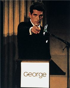 septembre 1995 à Federal Hall, New York, NY - John Kennedy Jr donne ...