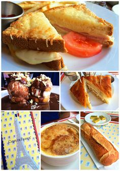 Les Chefs de France - France Pavilion, Epcot - the food is delicious. Don't skip dessert! OMG!
