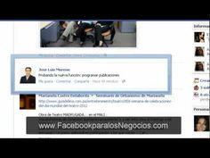 Facebook para Negocios: Como programar publicaciones en nuestra pagina de seguidores
