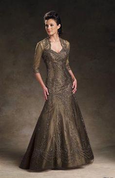 Trumpet/ Mermaid Spaghetti Straps Coat/ Jacket Floor-length Mother's #Dress Style Code: 02474 $144