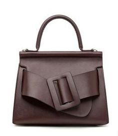 ea1f76072091 Genuine Leather Women s Buckle Front Handbag 6 Colors