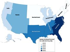 Us Military Enlistment by State Map