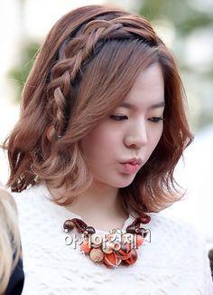kpop short hair sunny - Google Search