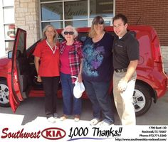 #HappyBirthday to Louise Conant from Kathy Parks at Southwest KIA Rockwall!