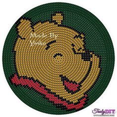 Winnie the Pooh Wayuu Mochila pattern