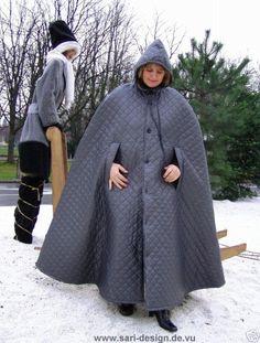 Rain Cape, Rain Wear, Cloak, Capes, Raincoat, Sari, Jackets, Inspiration, Fashion