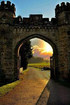 Path thru the castle