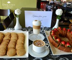 Enjoy a delicious latte or cappuccino accompanied by a cookie or gluten free bread at Dreams Huatulco Resort & Spa! All Inclusive Beach Resorts, Mexico Resorts, Resort Spa, Yummy Treats, Gluten Free, Dreams, Latte, Cookie, Inspire