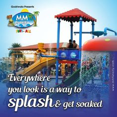#MMFunCity is filled with adventure thrill #rides, lazy rides and rides for the younger ones. For more: https://goo.gl/Su9dWZ #Waterpark #Fun #Raipur