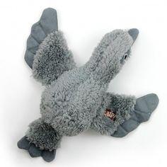 Brinquedo para Cachorro Pássaro Cinza Lambswool Cuddle Bird Afp - MeuAmigoPet.com.br #petshop #cachorro #cão #meuamigopet