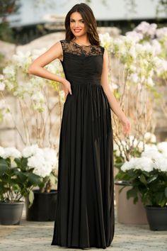 Rochie de seara neagra cu dantela aplicata Bridesmaid Dresses, Prom Dresses, Formal Dresses, Wedding Dresses, Black Evening Dresses, Evening Gowns, Veil, Lace, How To Wear