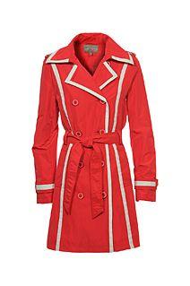 Rode regenjas sixties