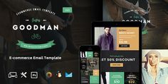 20  #Best #Responsive #eCommerce #Email #Templates