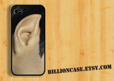 Star Trek Mr Spock Ear - iPhone 4 Case iPhone 4s Case iPhone 5 Case idea case Galaxy Case. $16.00, via Etsy.