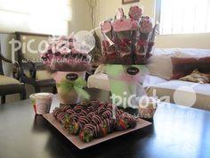 Cupcake Party!!!  Bombones, fresas y brochetas  ventas@picota.com.mx