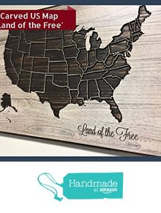 United States Map Wood Map Home Wall Decor US Map American Map