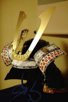 Samurai Warriors, Japan. 'Kabuto'