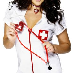 1pc Stethoscope Nurse Hospital Doctor Equipment Tool Pretend Role Play Set Halloween Party Cosplay Toy Medica Night Stethoscope #Affiliate