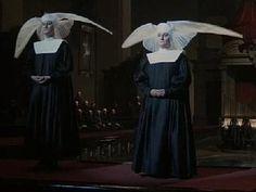Fellini's Roma Ecclesiastical Fashion parade