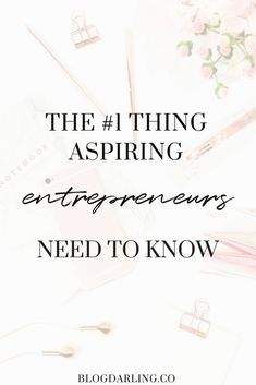Starting your own business can be overwhelming. Here is my top piece of advice for entrepreneurs that will help you get your business idea off the ground! #businessowner #onlinebusiness