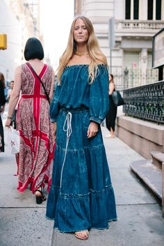 Serious inspiration from the NYFW street style SS17 season.