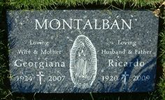 "RICARDO MONTALBAN  ""RICH CORINTHIAN LEATHER""  11/25/1920 - 1/14/2009  BURIAL:  HOLY CROSS CEMETERY, CULVER CITY, CA  Mr. Roarke of ""Fantasy Island"" and Kahn from ""The Wrath of Kahn."""