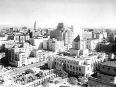 Downtown Los Angeles 1940...what it looked like when my grand parents lived near by