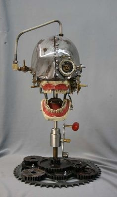1930's Dental Phantom - with 5 gold fillings and removable teeth - by Brian Kubasco --- 2_db5bfb2c-221b-47ec-b6f7-679e9f70df5b_large@2x