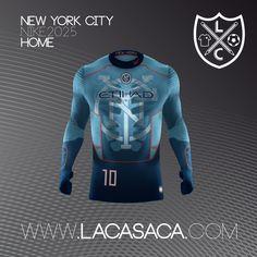 Nike 2025 Fantasy Kits - NYFC Home