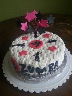 Zumba cake♡