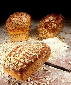 "Wheat Bread with Bran Flakes ""Kolos"", 1 lbs. Flakes, Crackers, Breads, Food, Bread Rolls, Pretzels, Essen, Bread, Meals"