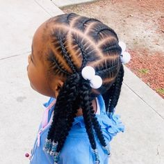 ✔ Hairstyles For Kids Black Daughters # Braids africaines carre Cute Ponytail Hairstyles, Cute Little Girl Hairstyles, Black Kids Hairstyles, Cute Ponytails, Little Girl Braids, Natural Hairstyles For Kids, Kids Braided Hairstyles, Flower Girl Hairstyles, Braids For Kids