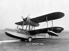 1938 - Royal Air Force (RAF) Supermarine Sea Otter (Single-Engined Piston Biplane Flying Boat)