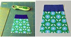 Heerlijk comfortabel en makkelijk te maken: Tricot Rokjes! Deze vrolijke bloemenstof, gecombineerd met contrasterende tricot voor de ta...