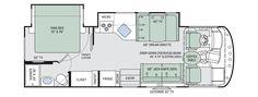 A.C.E. Class A Motorhomes - Floor Plans | Thor Motor Coach
