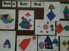Learning about SHAPES in Kindergarten!