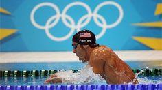 Michael Phelps se queda con el 4o. lugar en los 400m Individual Medley Varones.