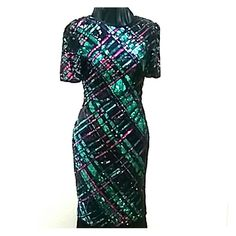 lawrence kazar Dresses - Lawrence Kazar sequined dress