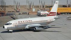 Boeing 737-247 - Western Airlines
