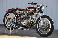 Triumph Bonneville Street Tracker.                                                                                                                                                                                 More