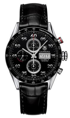 TAG Heuer - Chronograph Carrera Black