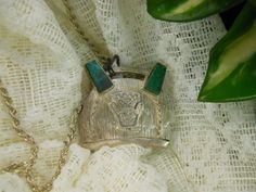 Beautiful 925 Silver Aztec Design Pendant and 925 by justjunkin2, $115.00