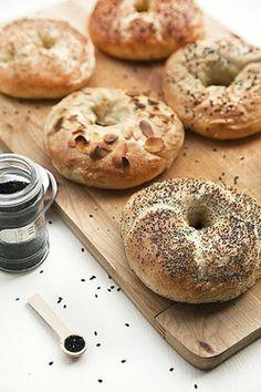 Bagels for breakfast!