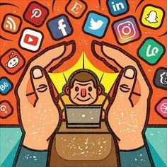 ALEXEI VELLA ILLUSTRATION: SOCIAL MEDIA