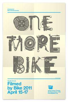 Bike Part Font!