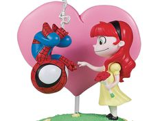 #Marvel Animated Spider-Man & Mary Jane Statue From Gentle Giant #Marvel