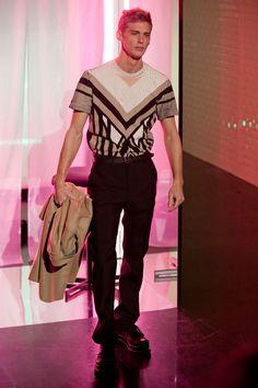 JEAN PAUL GAULTIER AUTOMNE-HIVER 2013-2014 Paris Paris, Jeans, Jean Paul Gaultier, French Male Models, Jeremy Dufour, 2013, Fall Winter, Clothes, Mens Fashion